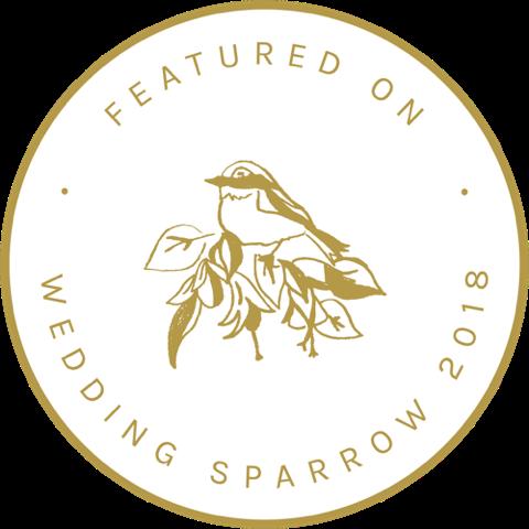 Wedding sparrow feature logo