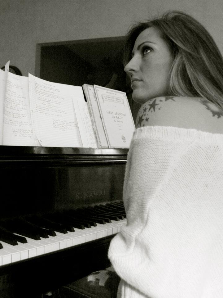 Keri Noble - Piano B&W