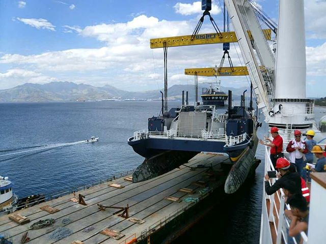 The M/V Susitna has a new home in the Philippines. The GPA designed, 209-foot Small Area Waterplane Twin Hull (SWATH) icebreaking landing craft was delivered to the Philippine Red Cross on 2 December 2016 in Subic Bay, Philippines, after being towed from Seattle across the Pacific by Harley Marine Services. GPA worked closely with Harley Marine and provided lift and transportation analysis, technical support for lifting and securing the vessel to the towing barge, among other preparations for the Pacific crossing.  Thanks to our team's combined efforts and the excellent planning executed by Harley Marine Services. We wish her all the best in her new home and many more years of operation as a humanitarian ship. #ship #marineengineer #navarchitecture #landingcraft #boats #redcross #philippines