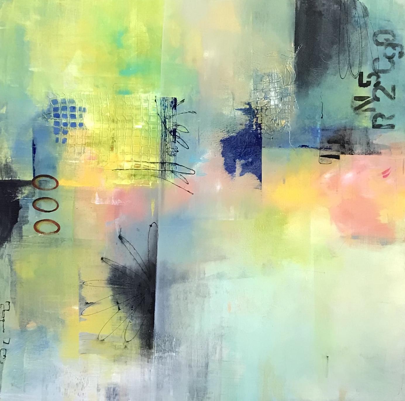 """Spring Forward/Acrylic on Canvas/36x36x1.5"""""""