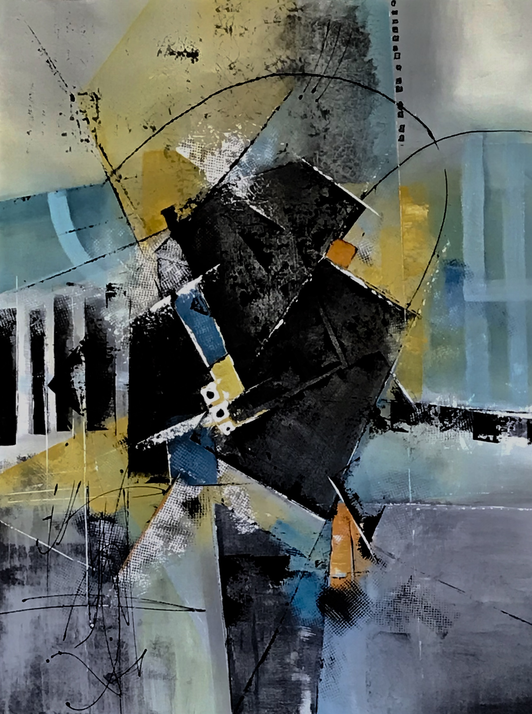 Birdwalk/Acyrlic on Canvas/30x40in.x1.5in.