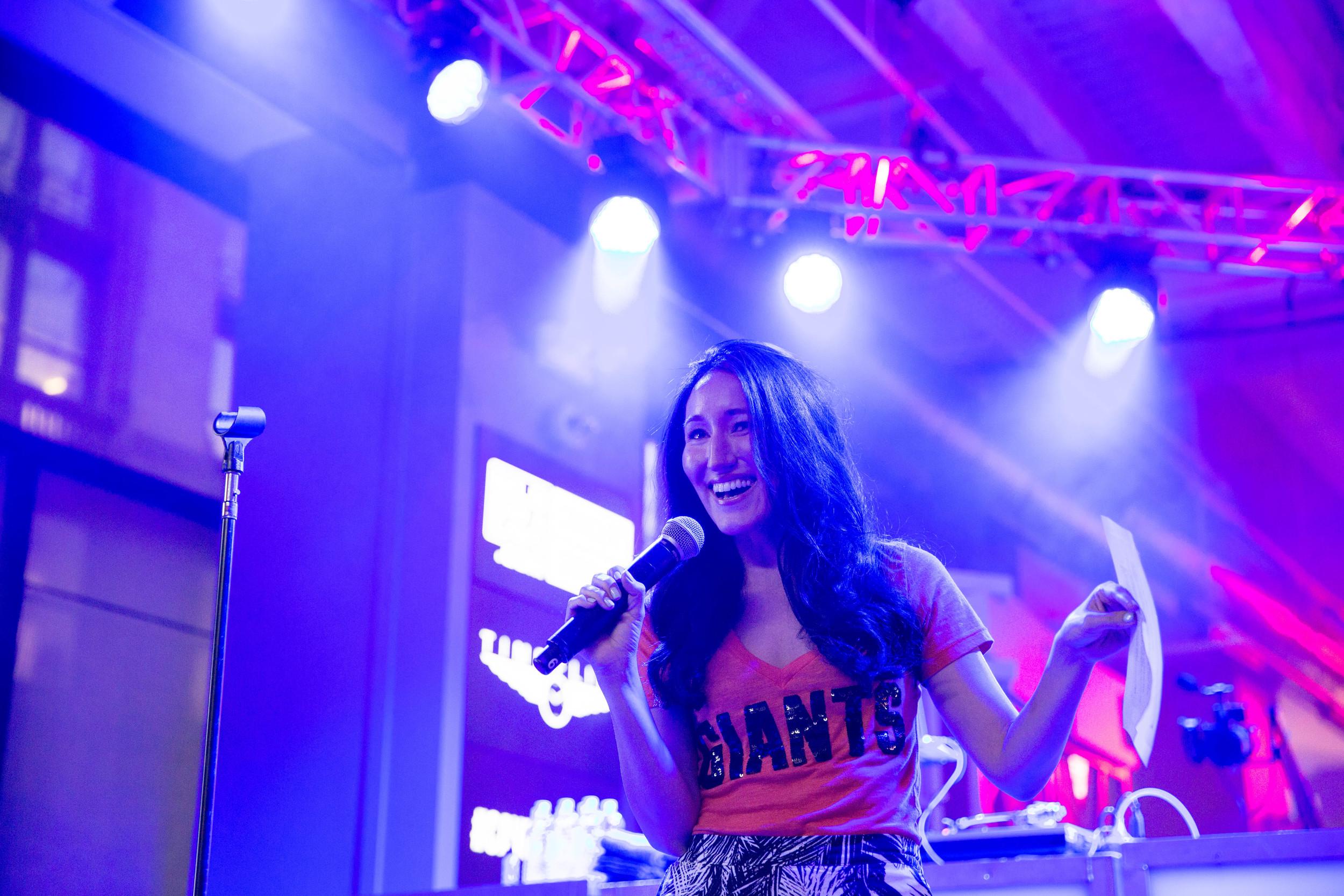 Angela Lauren Budweiser Concert Series