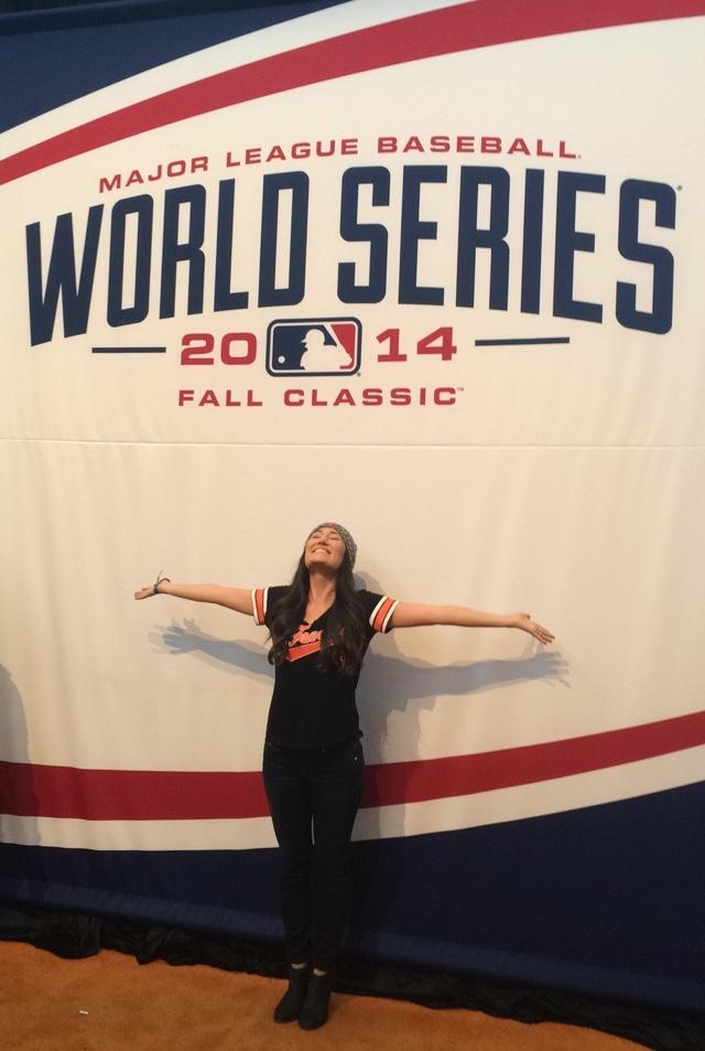 Angela Lauren World Series