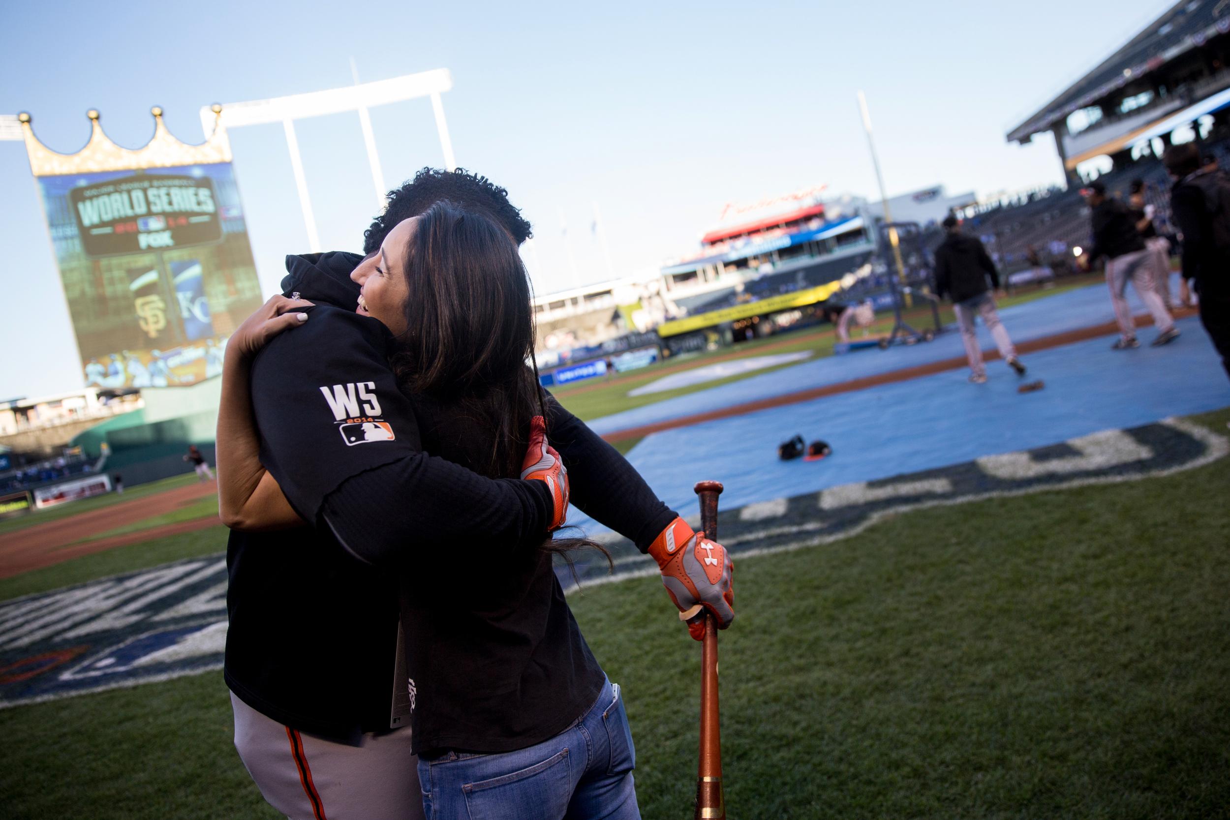 Angela Lauren World Series Pablo Sandoval