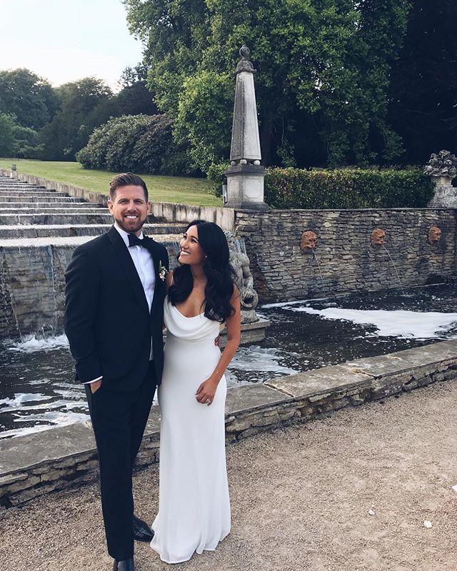 This guy... Am I right?!☺️ . . . #ballyfin #wedtostew #ireland #wedding #dublin #briangela #belevedere #domperignon