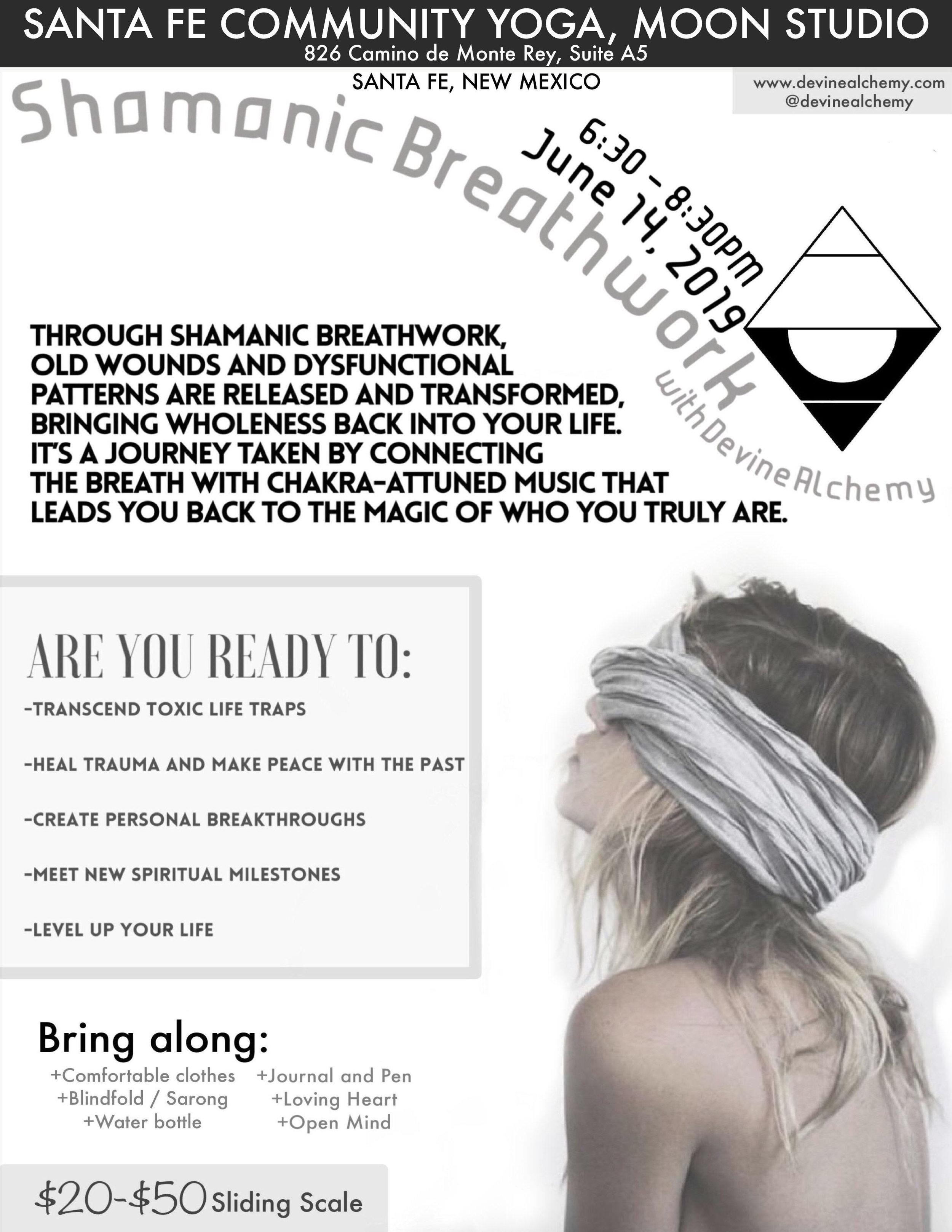 shamanic breathwork santa fe