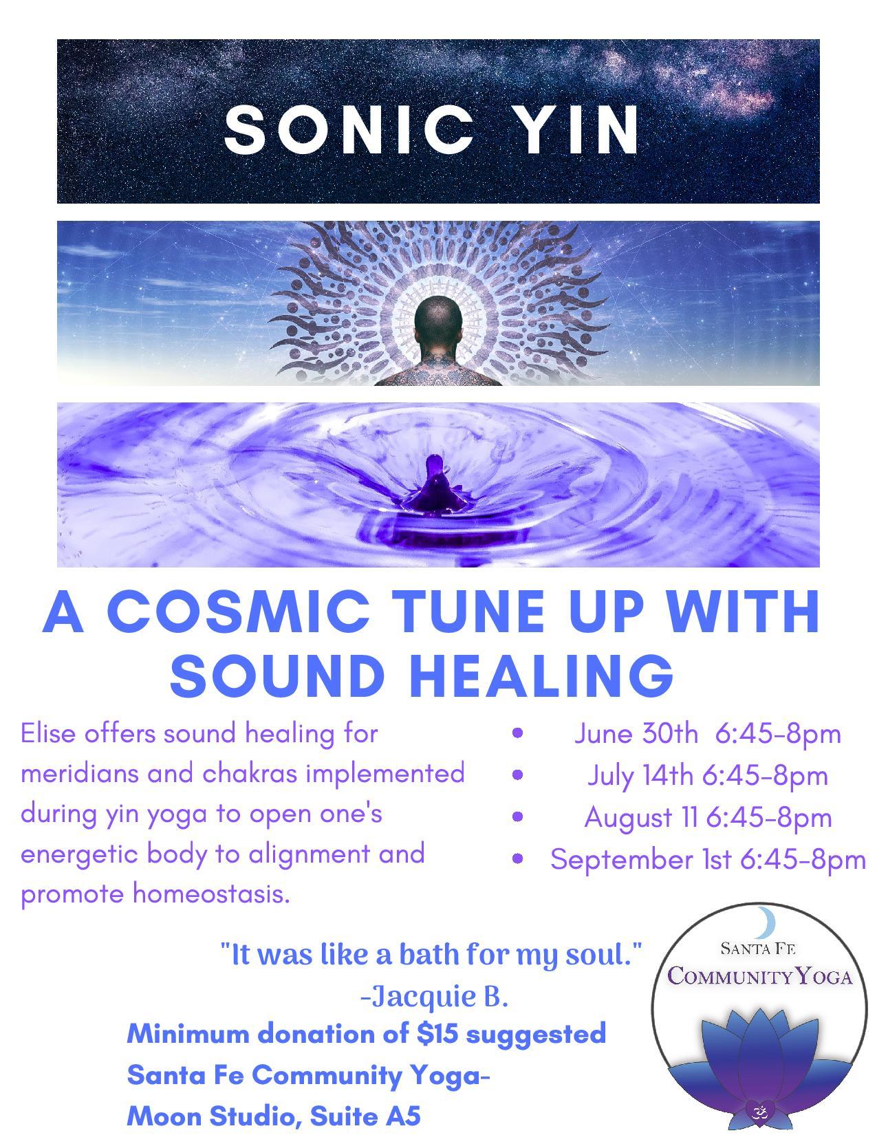 sonic yin santa fe