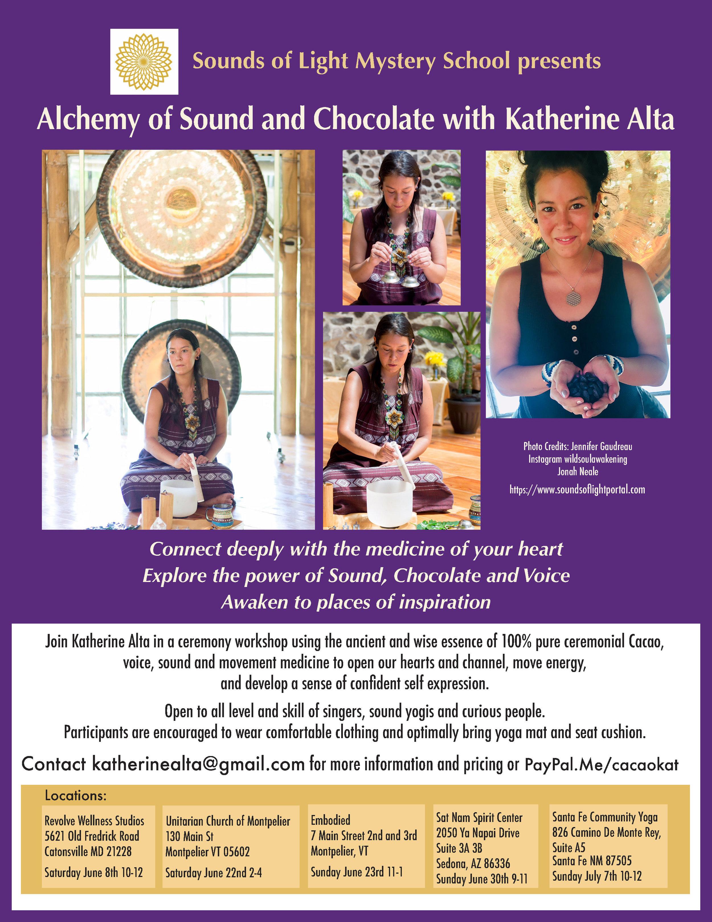 cacao ceremony santa fe