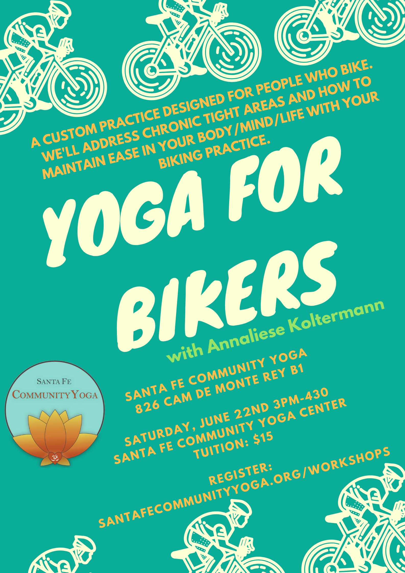 yoga for bikers