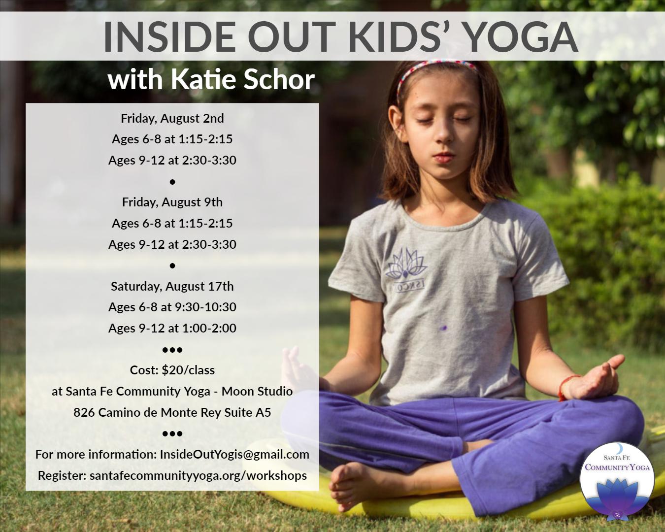 kids yoga santa fe