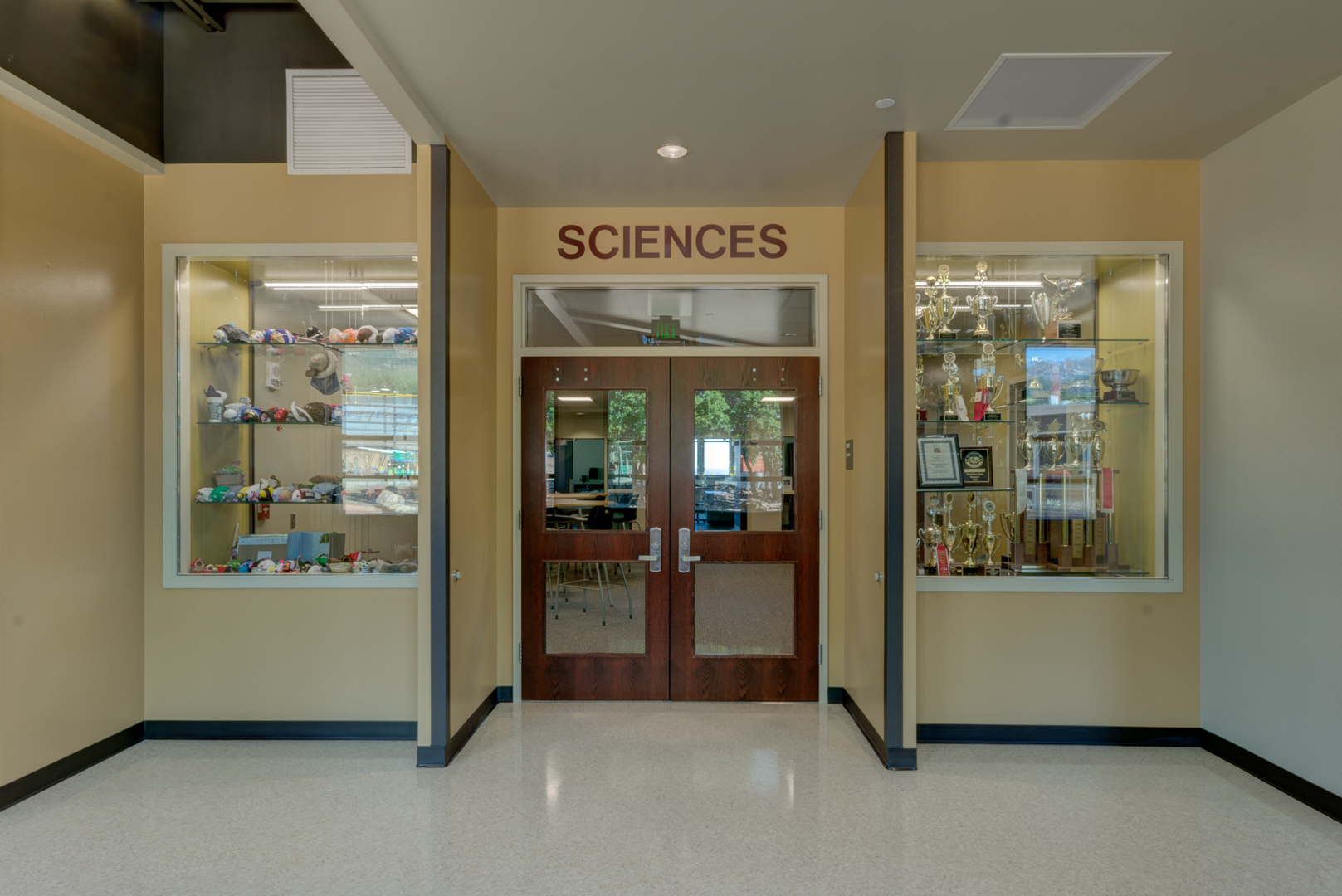 Example of a Department Entrance