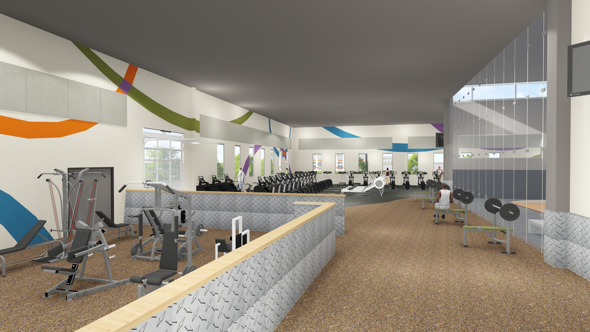 SNEAK PEEK! An interior rendering of the Y at 1st & Main.