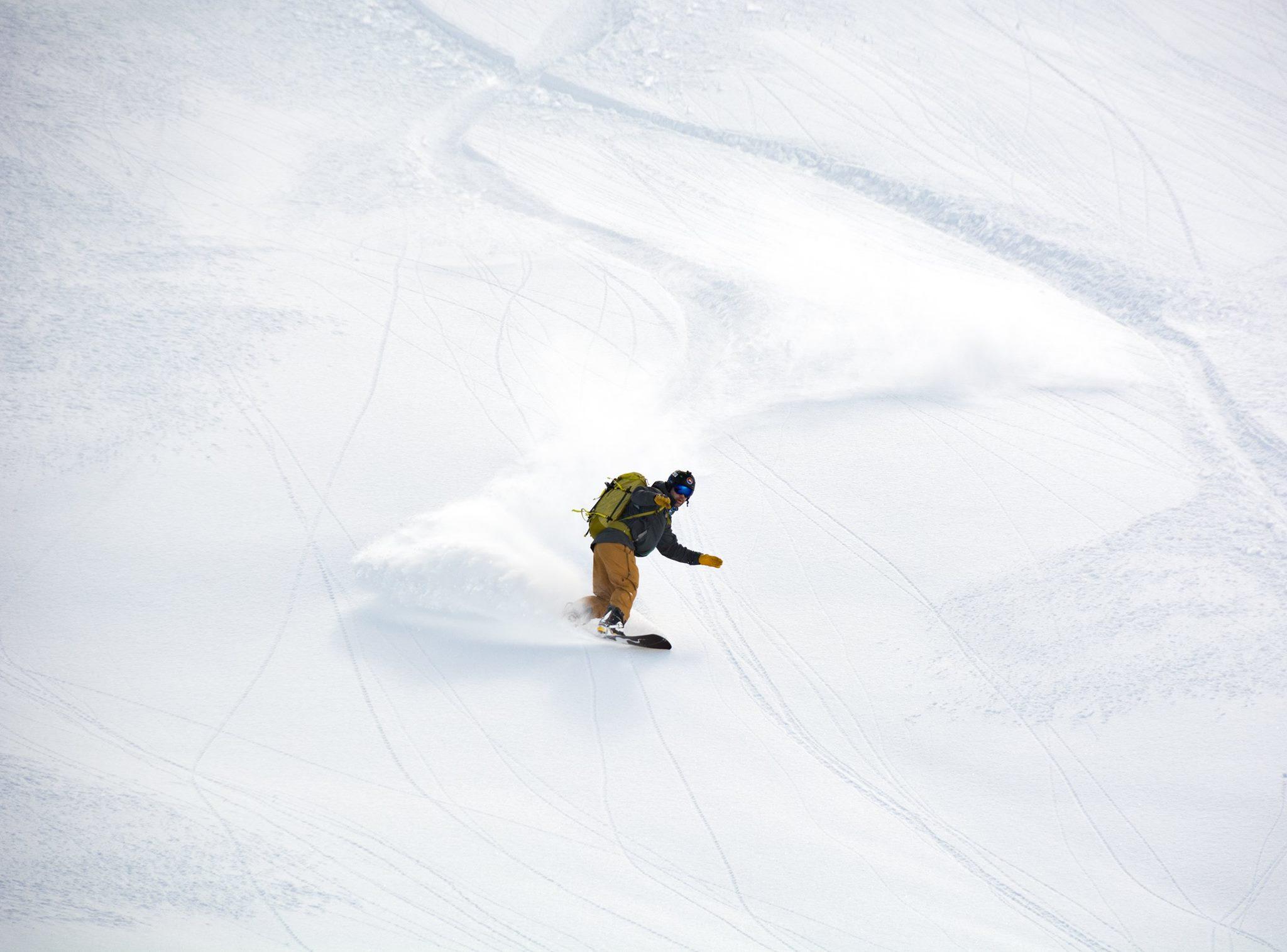 Shredding some Mt Baker Pow (pic courtesy of Zach Birmingham)
