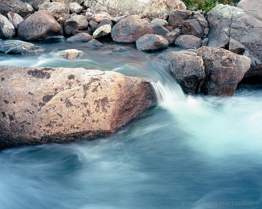 Stream at Titcomb Basin, WY | Ektar 100 |Tripod