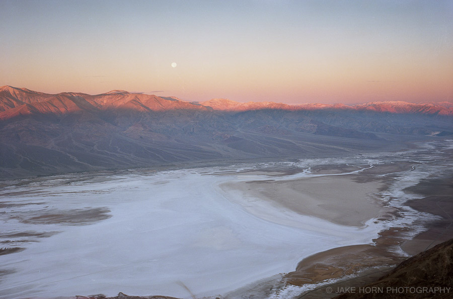 View From Dantes Peak - Fotoman 69 w/90mm Super Angulon   Ektar 100