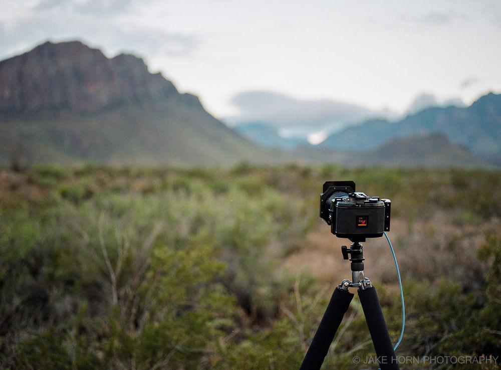 Shooting Ektar 100 in Big Bend National Park