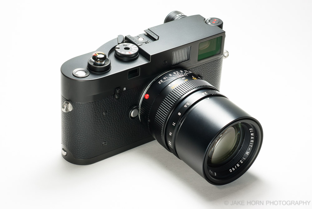 Elmarit-M mounted to the Leica M-A [TYP 127]