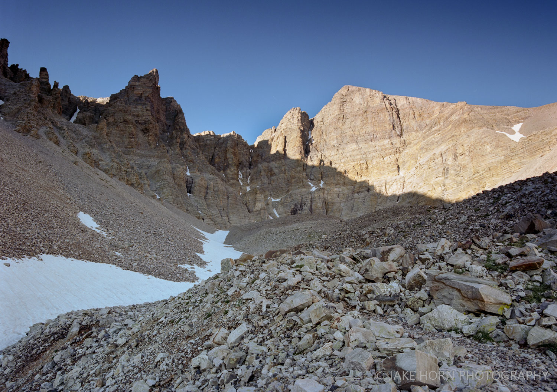 Rock Glacier, NV -  Ektar 100    f8   0.6 Soft Grad   Polarizer