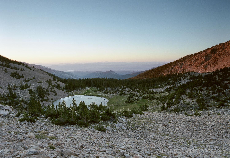 Johnson Lake, NV - Portra 400   f8   0.6 Soft Grad