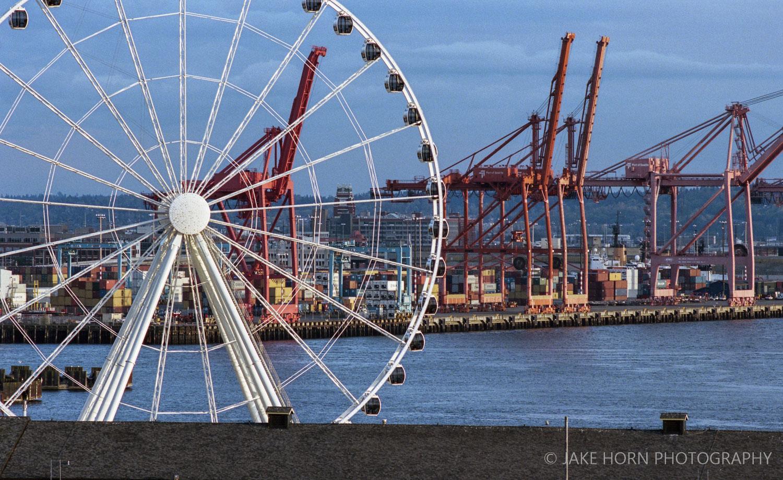 Pike Place Market -  Nikon F4  | Portra 400 | F5.6