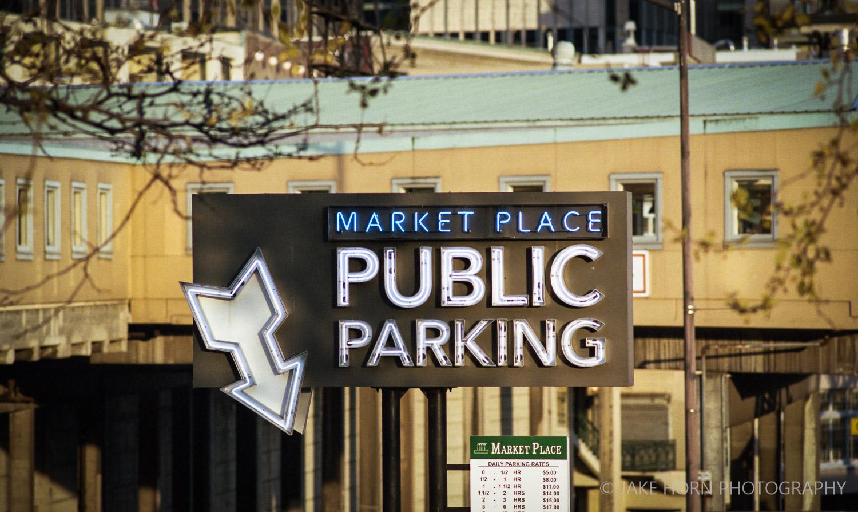 Pike Place Market -  Nikon F4  | Portra 400 | F8