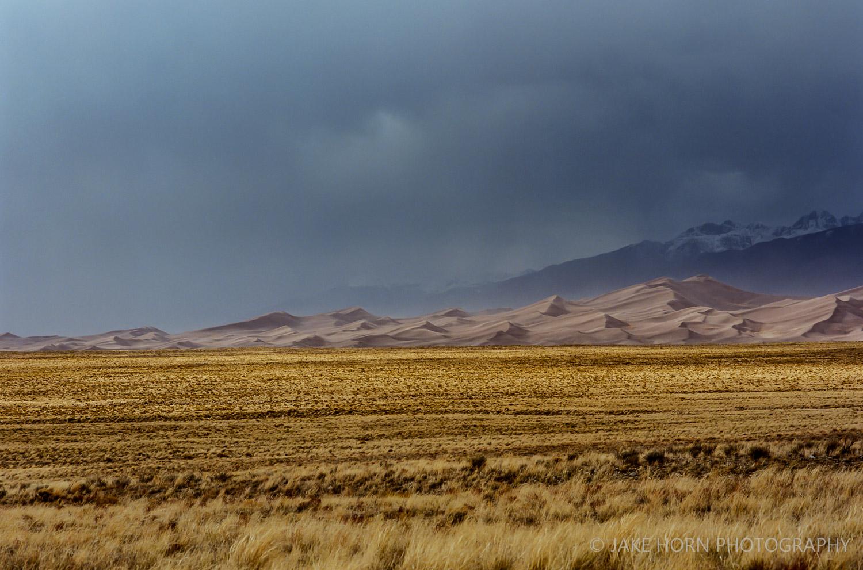 Great Sand Dune NP, CO -400mm | f8 | Ektar 100