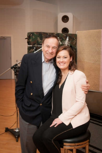Ashley and songwriter Richard Sherman.
