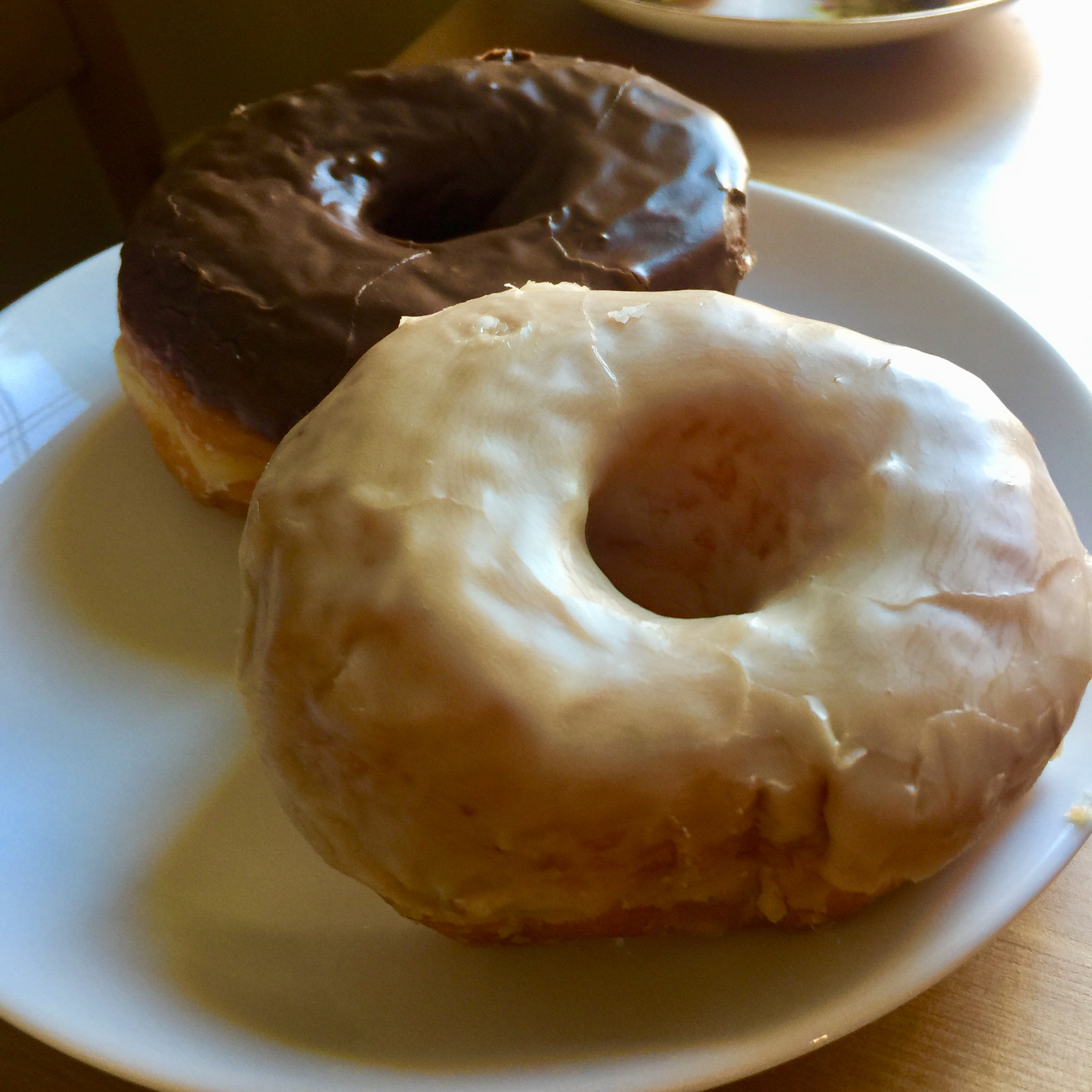 Pictured: actual VG Donuts (before I ate them).