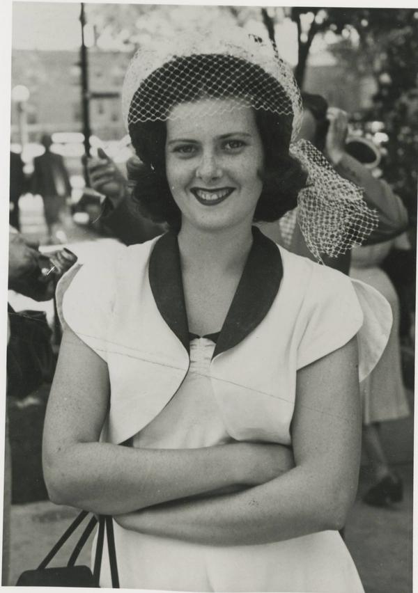 John's mother, Joan Lally Musker.
