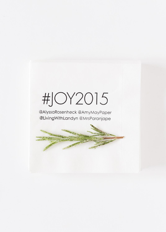 ©AlyssaRosenheck2015 Tiny Prints with Domino Magazine Holiday