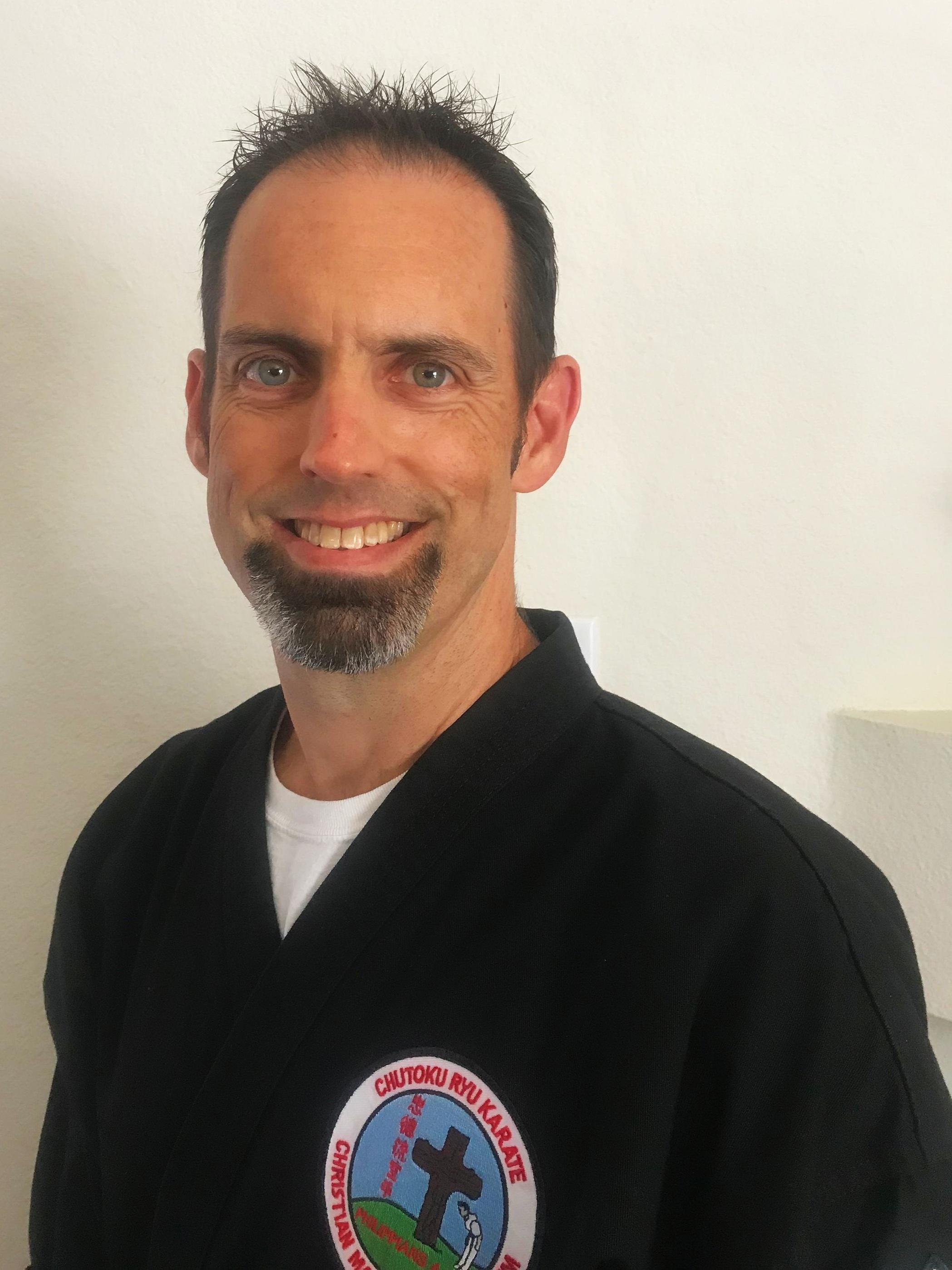 Steven Casey, Instructor 3rd Degree Black Belt