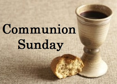 Communion Goblet and Bread