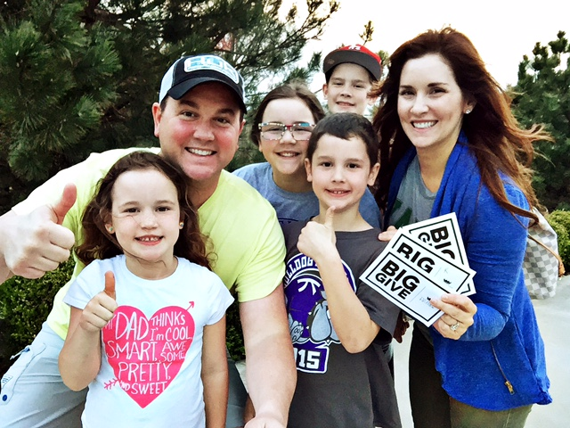 Quintin, his gorgeous wife, Lori, and their four beautiful children.