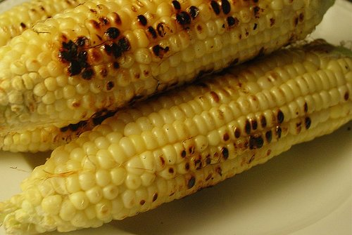Grilled corn!