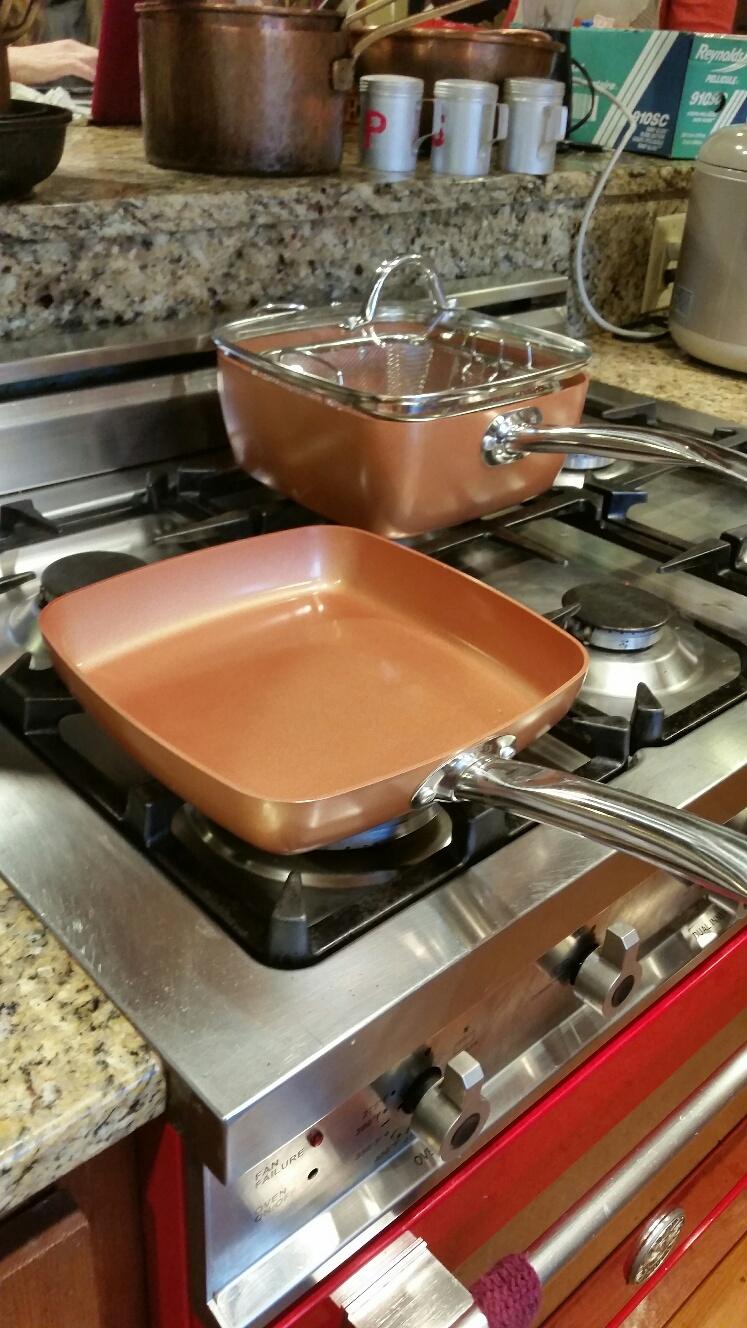Big Bold and Beautiful Copper Chef!