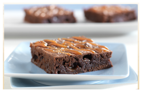 Werther's Salted Caramel Brownies