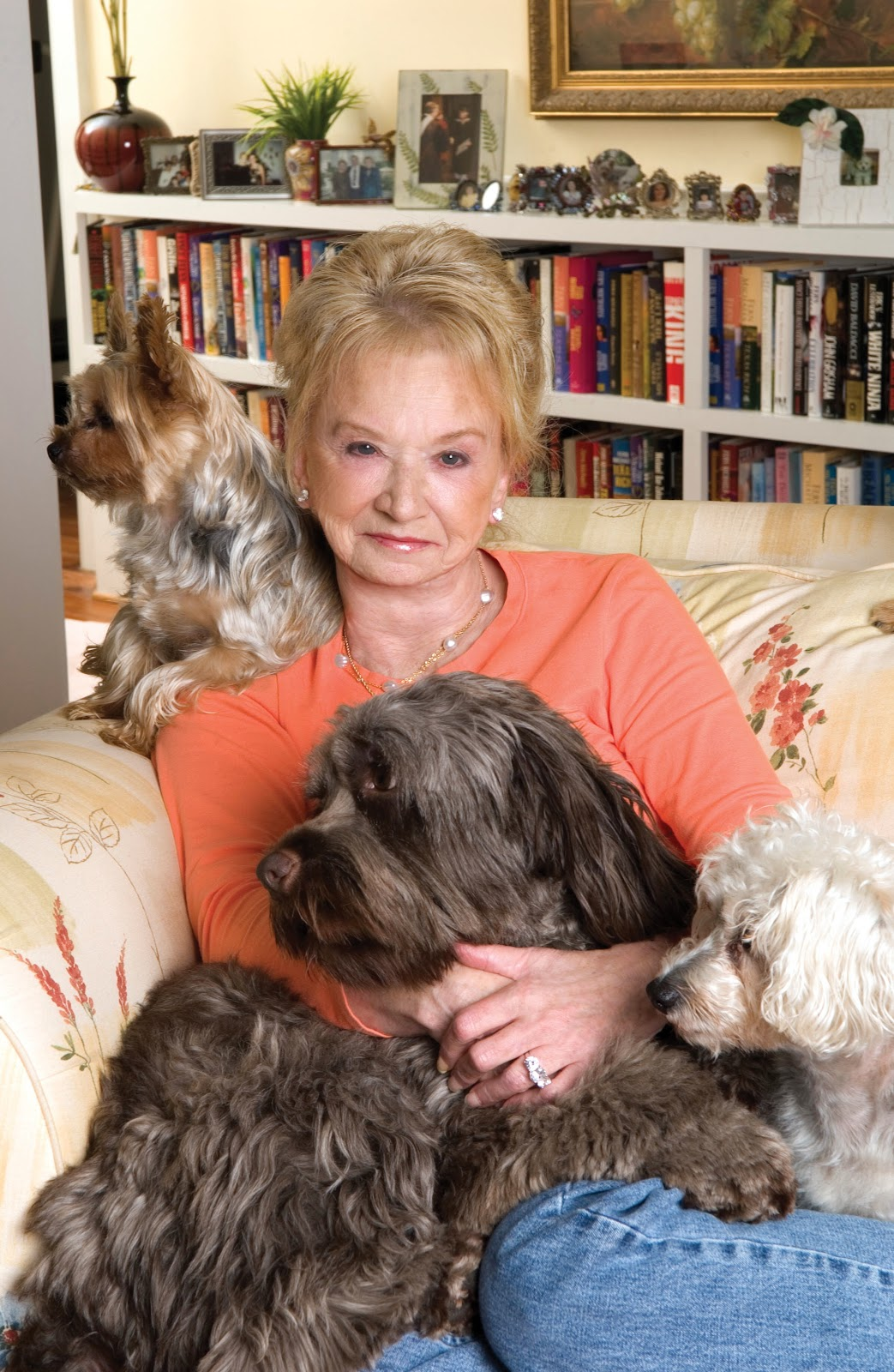 Visit Fern Michaels Author Page  HERE  (Obviously a dog-lover like me!)