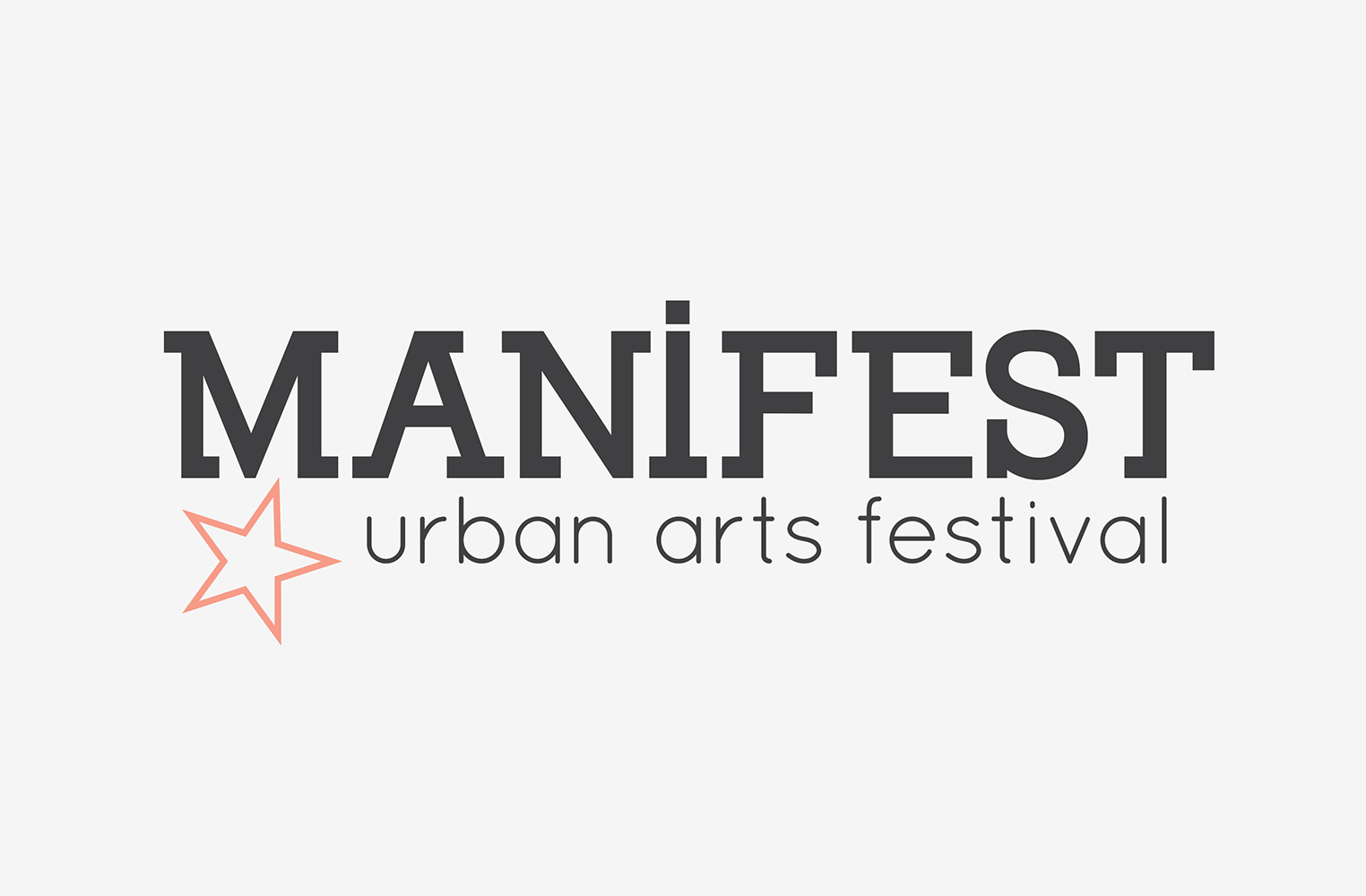 Manifest wordmark with a simpler star.