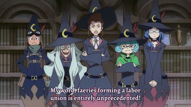 Little Witch Academia was the first of Netflix's prominent exclusive anime releases.  via .