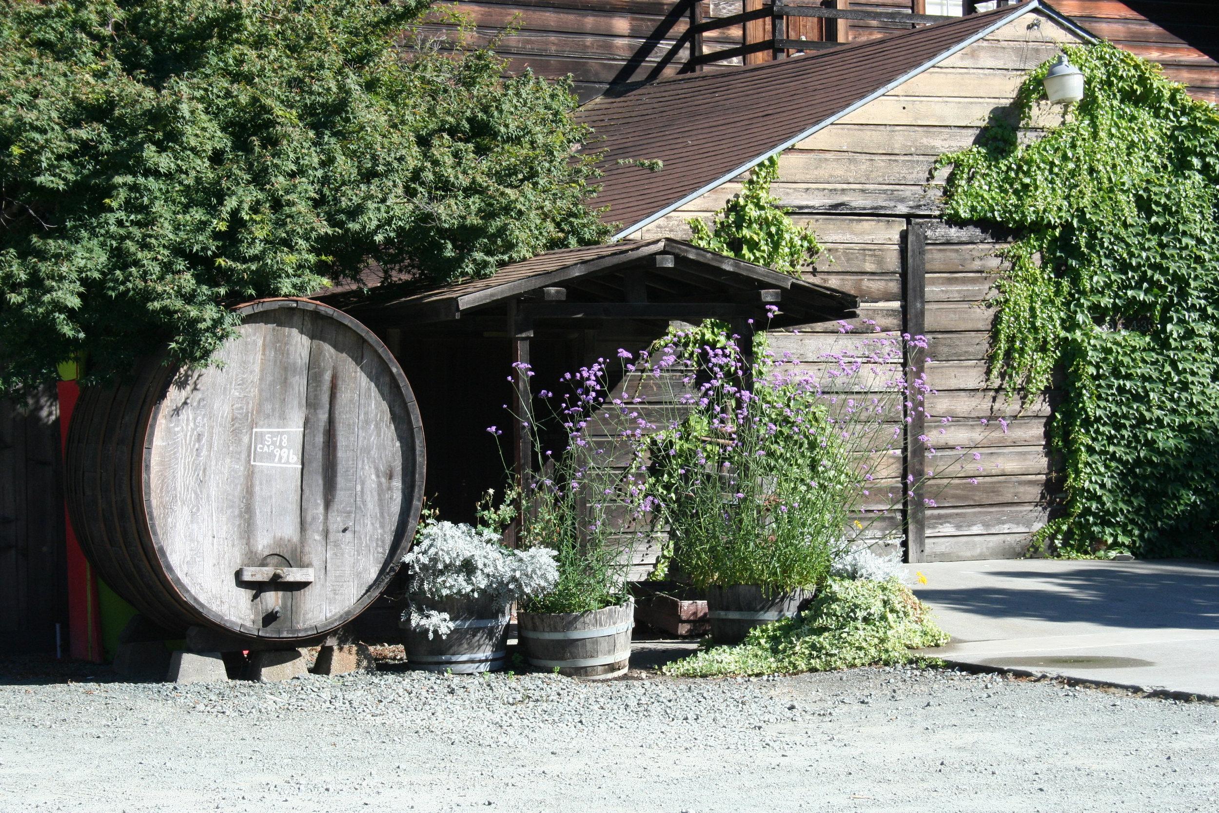 Parking at Prager Winery