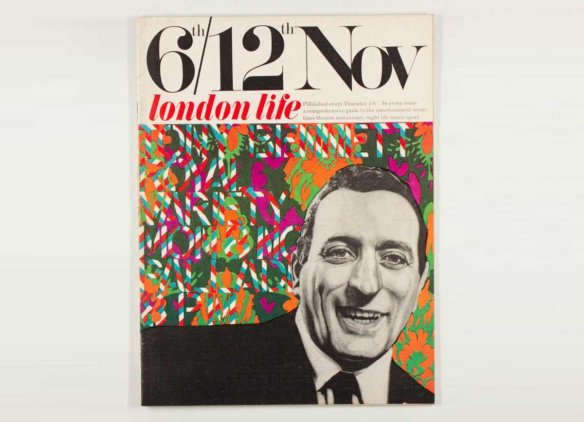 London Life  - Tony Bennet by Ian Dury -1965