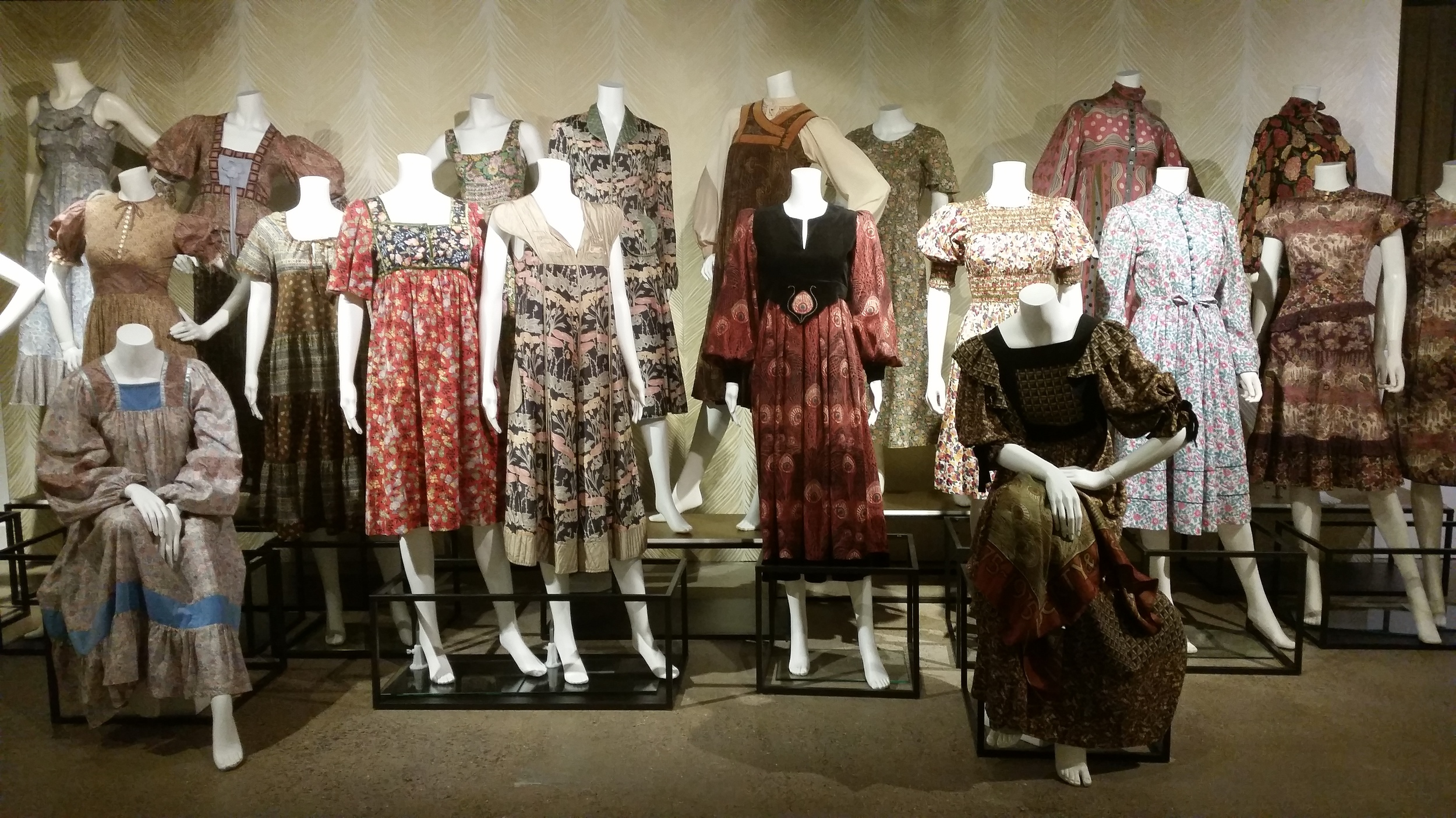 1970s Nostalgia - floral prints from the period when textile designer Richard Nevill was Liberty's design director