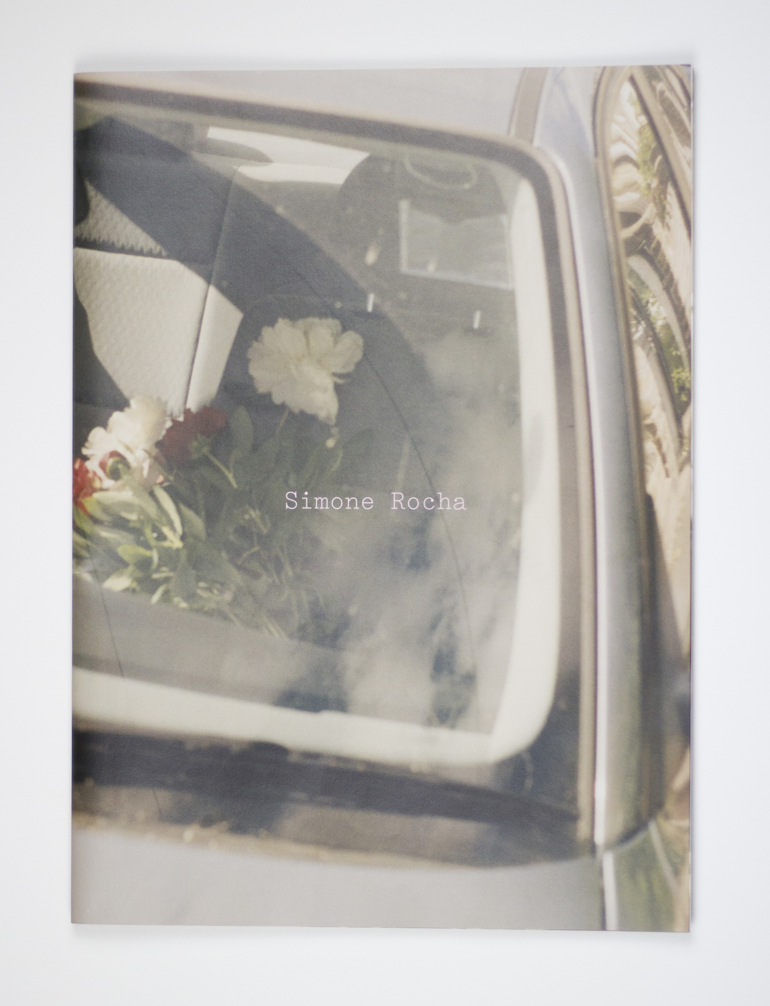 Fashion, Photos and Flush Pink - The cover of Simone Rocha's  AW15  photo book