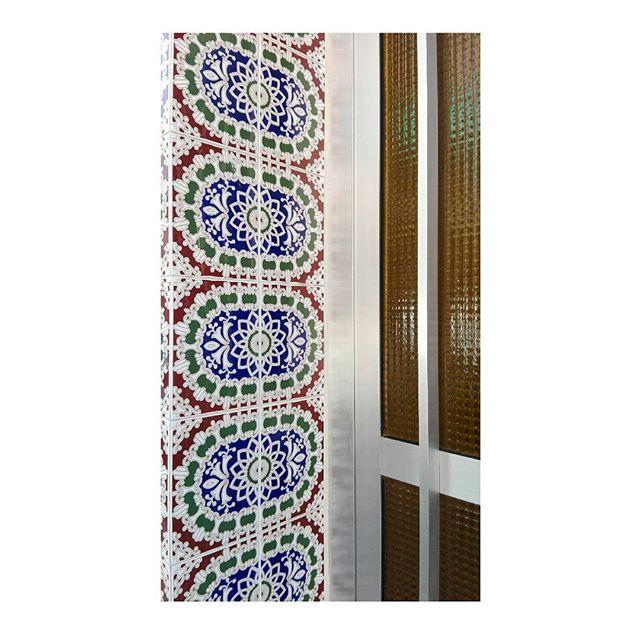 Calle de Casillas 50, Coria . . . #spain #weekend #door #tiles #30 #summer #coria #spain #caceres #family