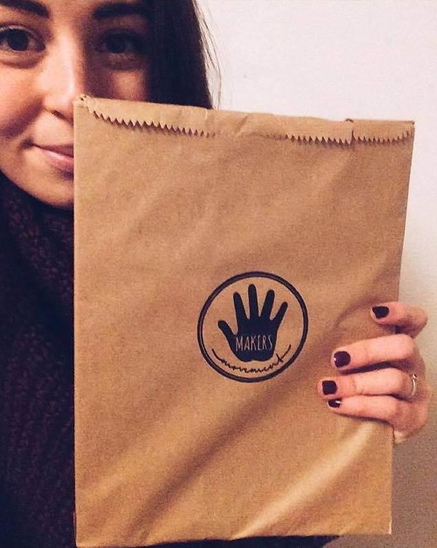 """""""T  his does not accurately portray how excited I am that my Maker's     Magazine is here!!I cannot wait to open this up and see all of the beauty contained in it! I'm so elated to be a part of this and to read about all the amazing makers inside. Thank you    so much   @makersmovement  !"""" - @woodandwaxco"""