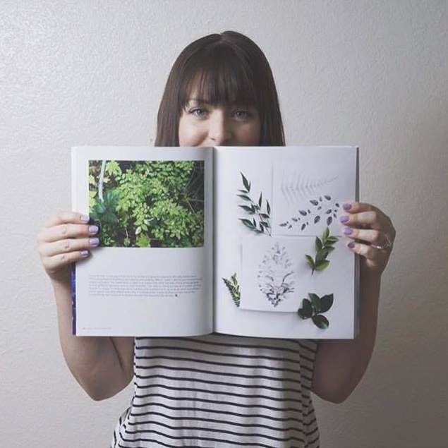 """""""  Oh my folks! My Maker's Movement Magazine is here! I can't believe that my artwork is featured amongst some of the most talented ladies out there. I feel so lucky to be apart of this community and completely inspired after reading everyone's stories. Thank you so much   @makersmovement  for being so encouraging and supportive of antlers+honey. I'm so excited to be apart of whatever is next for this growing movement!  P.S. If you are wanting a little creative inspiration go    over to   @makersmovement  to get your magazine too!"""" - @antlersandhoney"""