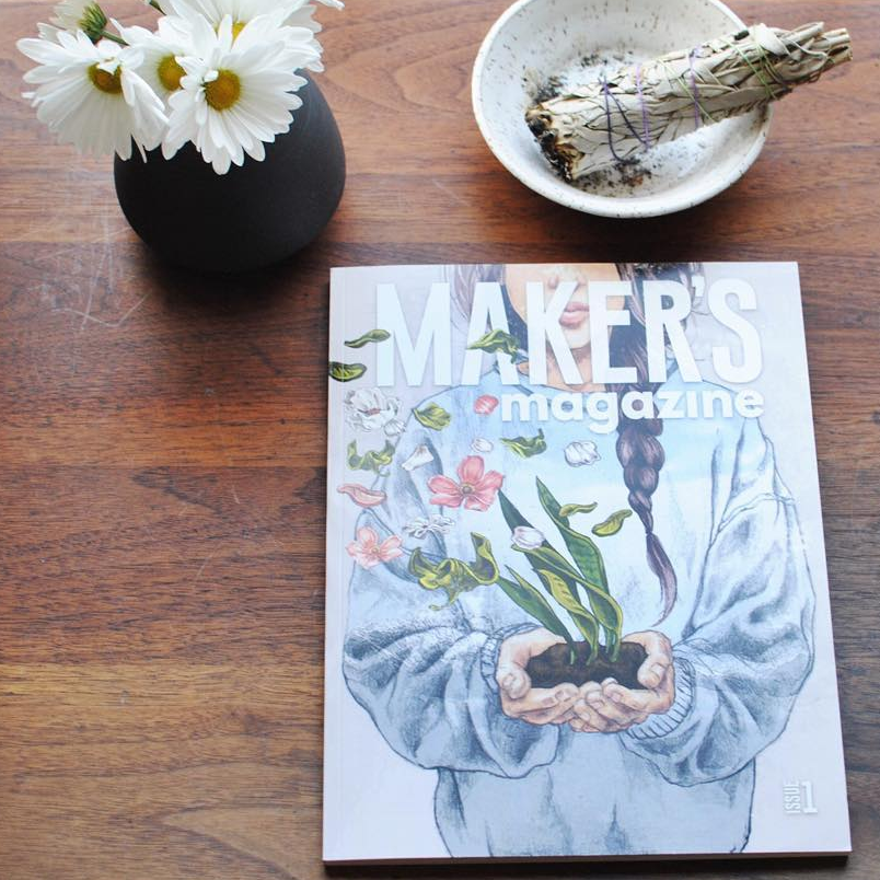 """""""Received this about a month ago and I still love going through it! So many amazingly talented artists in one magazine!"""" - @mlpottery"""