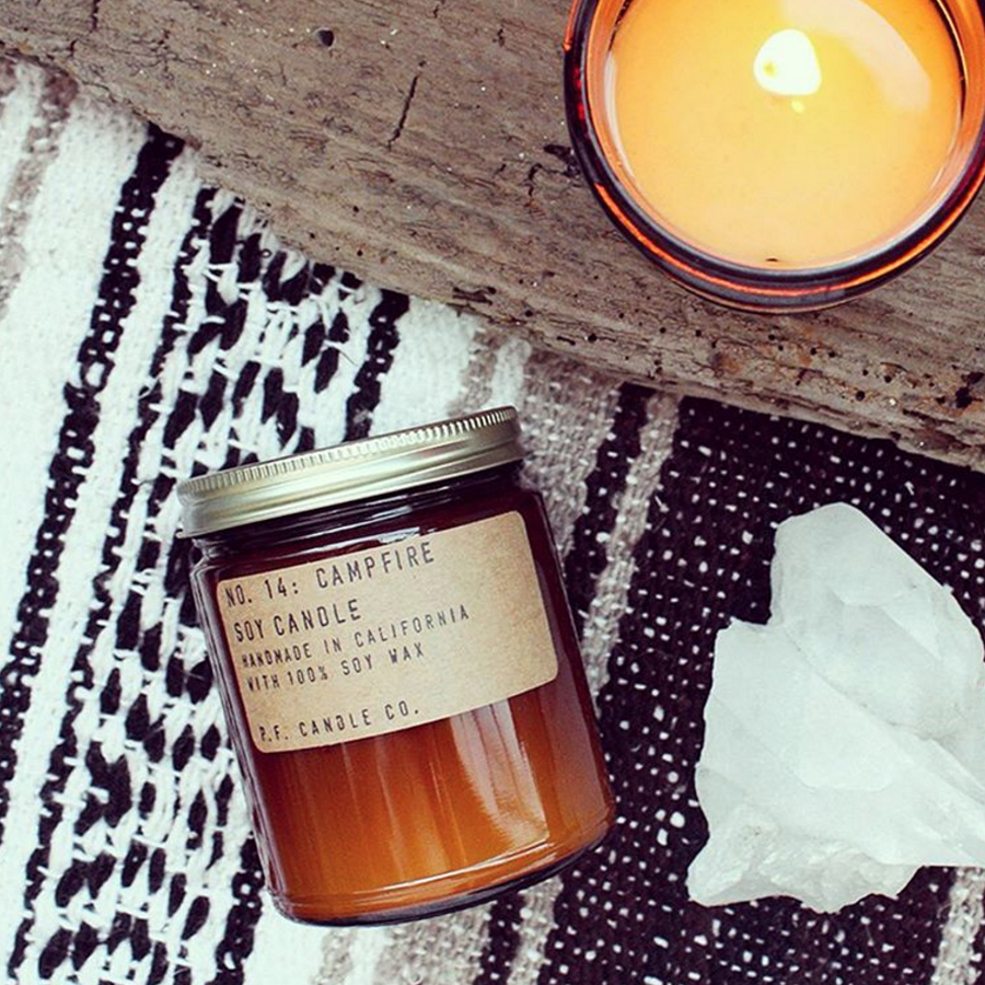 Campfire Candle by  Pommes Frites Candle Co .