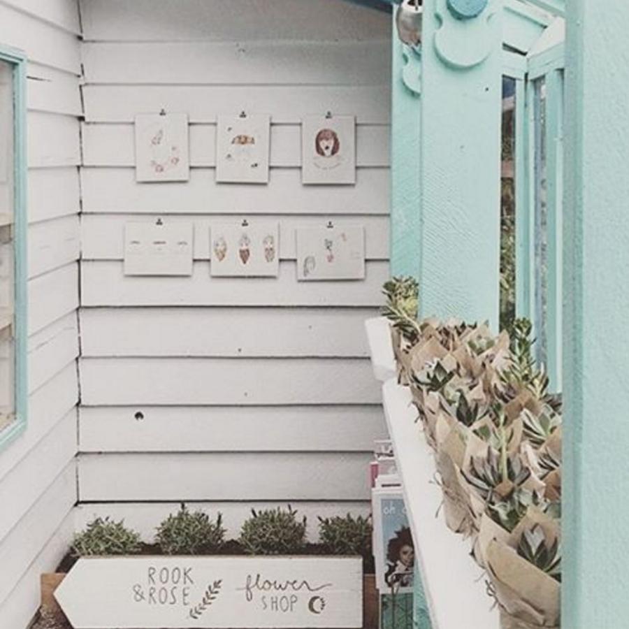 Rook & Rose   pop-up flower shop.
