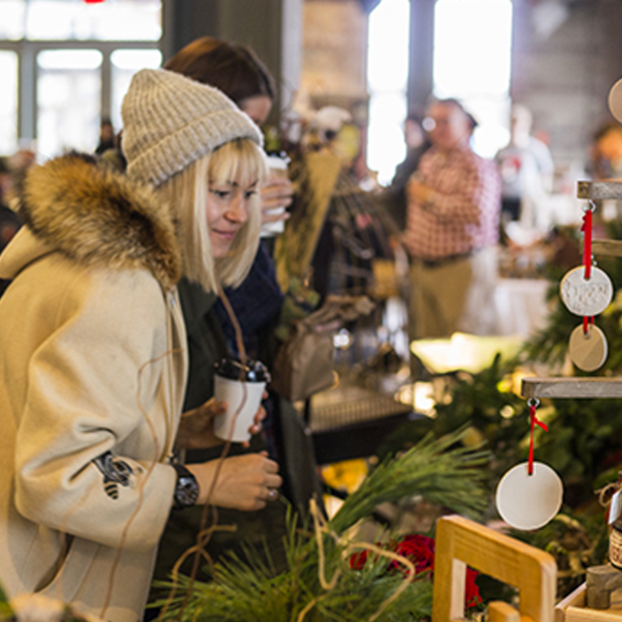 EVERGREEN'S HOLIDAY MAKERS MARKET:  Dec. 10 - 23, Evergreen Brickworks, 550 Bayview Ave., Toronto.  Delivered in partnership with Etsy Canada, the Makers Market is the place to find locally-crafted gifts, treats and other surprises!